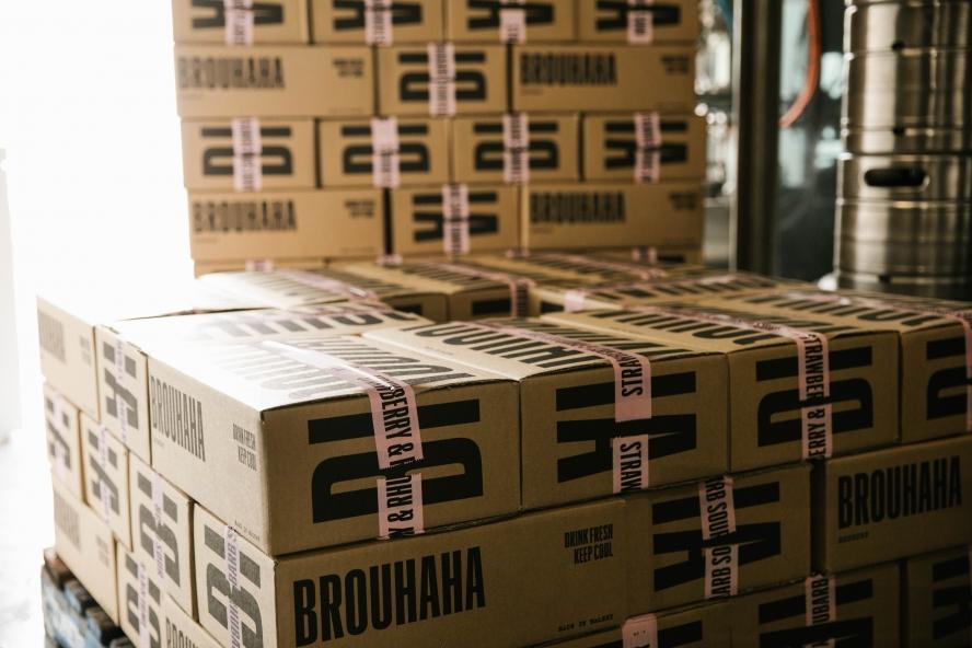 költöztetés Budapest keretein belül, dobozok